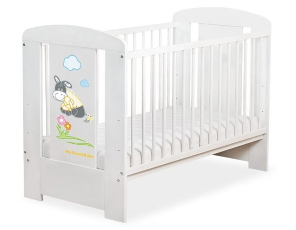 5011-07-813 without Drawer Baby Cot/Cot Bed Donkey Luca