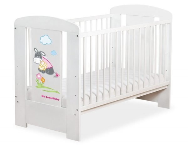 5011-07-814 without Drawer Baby Cot/Cot Bed Donkey Luca