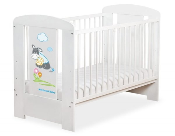 5011-07-815 without Drawer Baby Cot/Cot Bed Donkey Luca