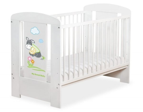 5011-07-816 without Drawer Baby Cot/Cot Bed Donkey Luca