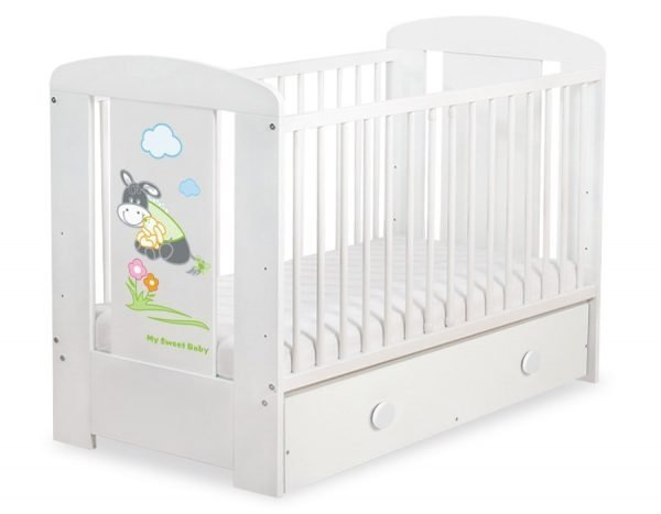 5011-07-816 MAXI Baby Cot/Cot Bed Donkey Luca