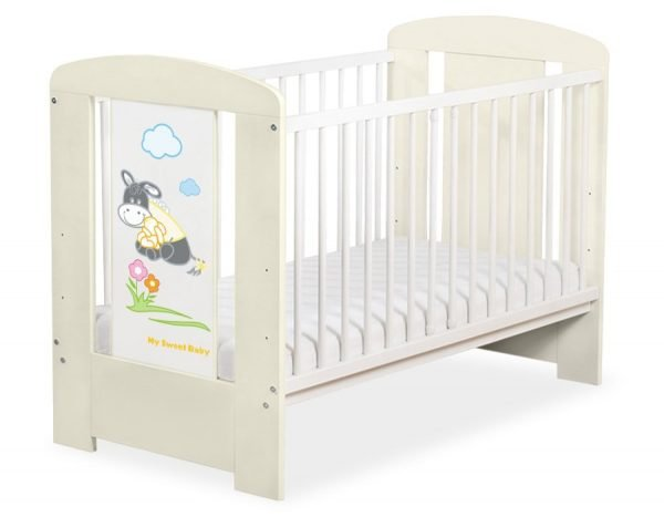 5011-10-816 without Drawer Baby Cot/Cot Bed Donkey Luca