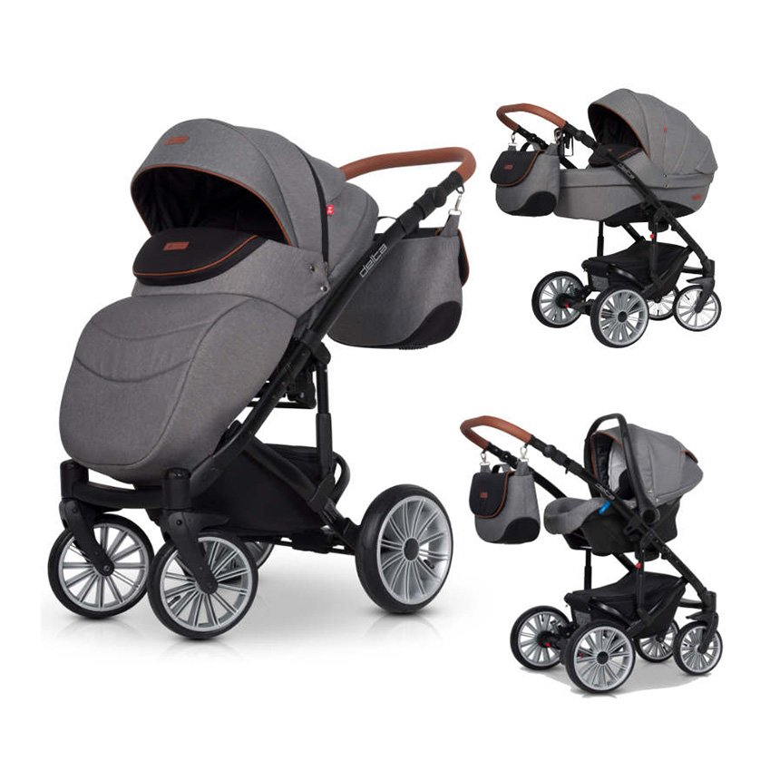 MODERN 3 IN 1 BABY TRAVEL SYSTEM