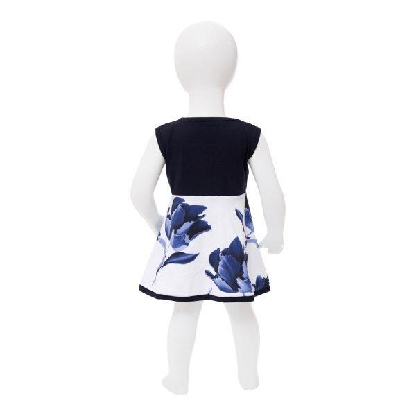 Faries Flower Printed Dress 9047